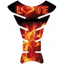 Sticker autocollant réservoir moto Love