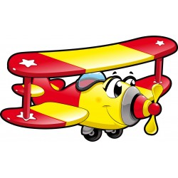 Stickers enfant Avion