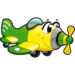Stickers enfant Avion