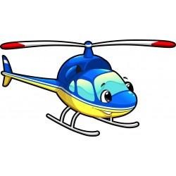 Stickers enfant Hélicoptère