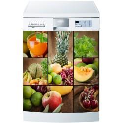 Sticker pour Lave Vaisselle Coktail de Fruits