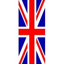 Sticker frigidaire Frigo Union Jack Drapeau Anglais 70x170cm