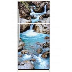 Sticker frigo déco Ruisseau