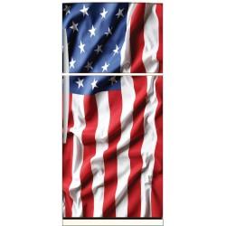 Sticker frigo déco Drapeau Américain USA