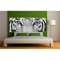 Papier peint tête de lit tigre