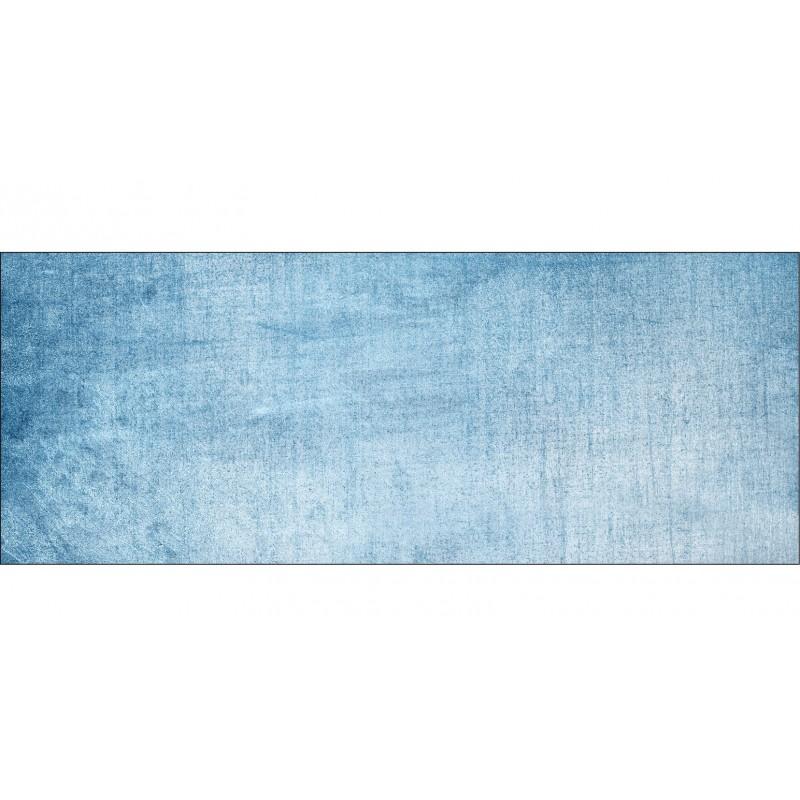 papier peint t te de lit fond bleu jean art d co stickers. Black Bedroom Furniture Sets. Home Design Ideas
