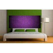 Papier peint tête de lit fond violet