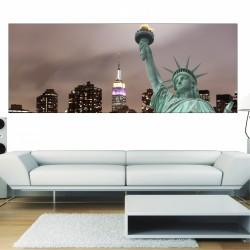 Papier peint panoramique statue de la liberté