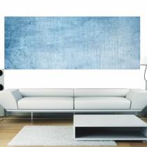 Papier peint panoramique fond bleu jean