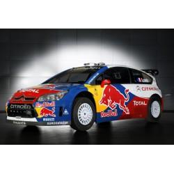Affiche poster Citroen-C4-WRC Loeb Rallye