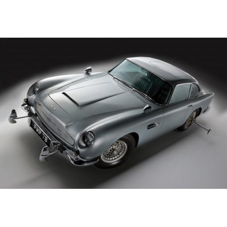 Affiche poster voiture Aston Martin DB5 James Bond