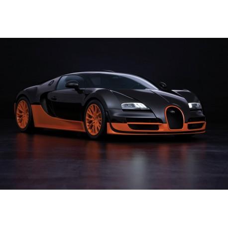 Affiche poster voiture Bugatti Veyron 16.4 Super Sport