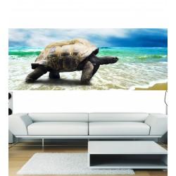 Stickers panoramique tortue de mer