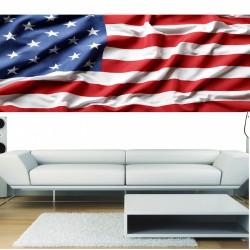 Stickers panoramique deco Drapeau Américain