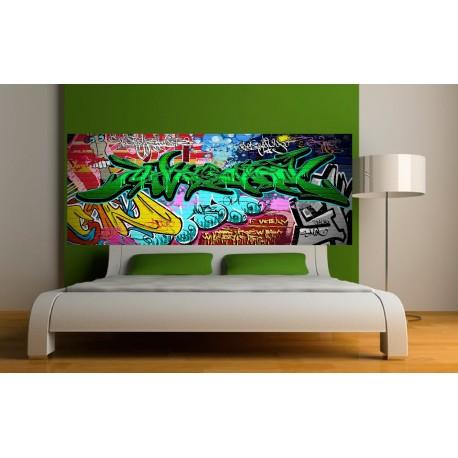Stickers tête de lit Graffiti 2