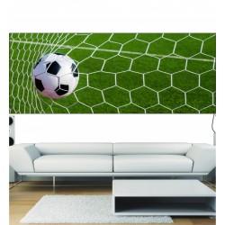 Papier peint panoramique cage de football