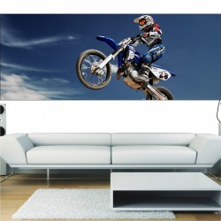 Papier peint panoramique Moto cross