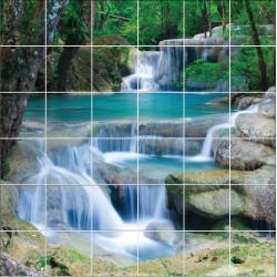 Stickers carrelage mural Rivière