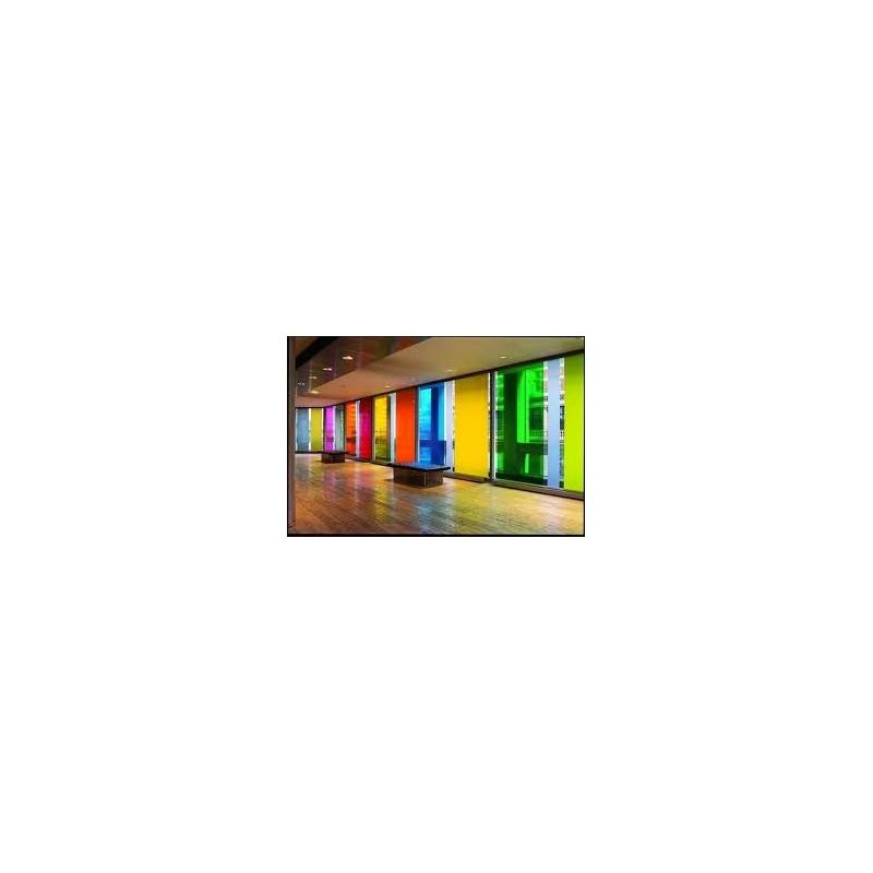 Stickers adh sif vinyle autocollant couleurs transparent for Autocollant mural