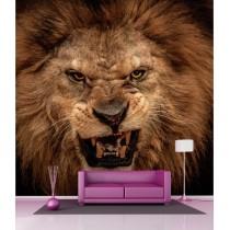 Stickers géant déco : Rugissement du Lion