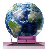 Stickers géant déco : Planète Terre