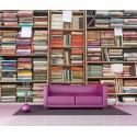 Stickers géant déco : Bibliothèque