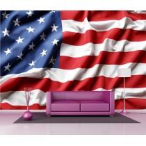 Stickers géant déco : Drapeau des Etats-Unis