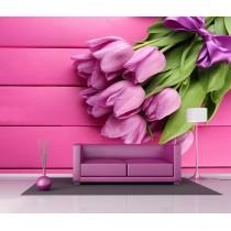 Stickers géant déco : Bouquet de fleurs