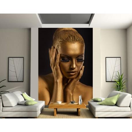 Sticker mural géant Modéle féminin