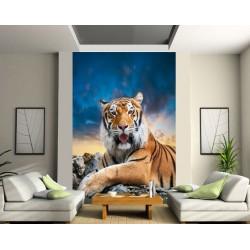 Sticker mural géant TIGRE