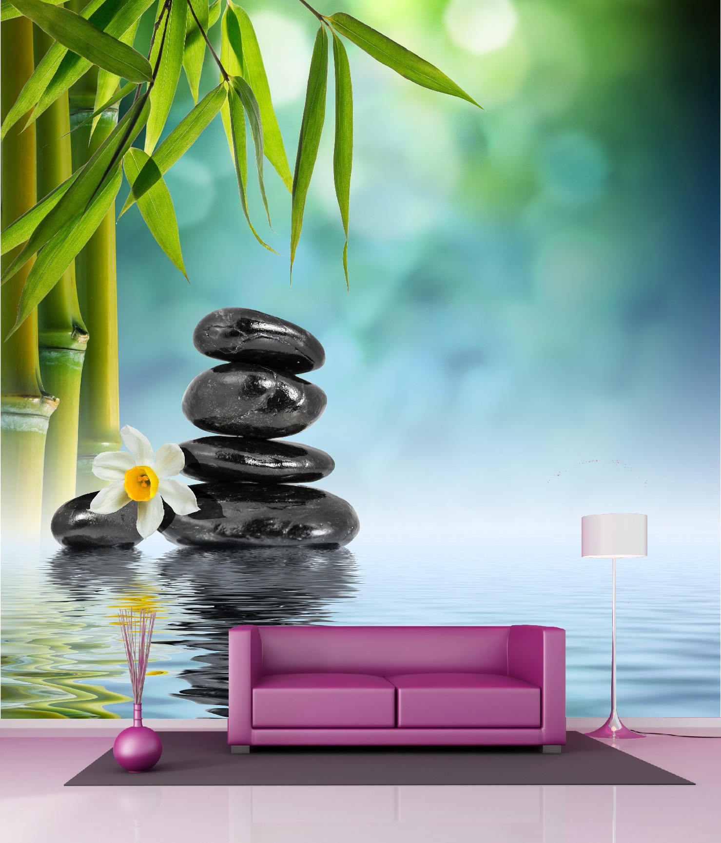 poster xxl zen awesome awesome poster mural zen with poster mural zen with poster xxl zen. Black Bedroom Furniture Sets. Home Design Ideas