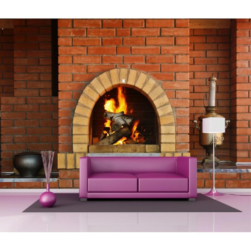 papier peint g ant d co chemin e 250x360cm art d co stickers. Black Bedroom Furniture Sets. Home Design Ideas