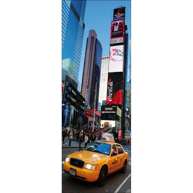 Sticker pour porte plane new york taxi art d co stickers - Stickers porte new york ...