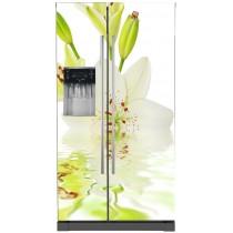 Sticker frigo américain Fleur