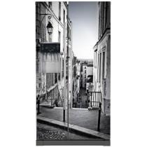 Stickers frigo américain Rue de Paris
