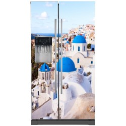 Stickers frigo américain La Grèce