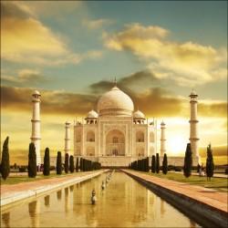 Sticker Lave Vaisselle Taj Mahal - ou magnet lave vaisselle