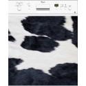 Sticker Lave Vaisselle Peau de vache - ou magnet lave vaisselle
