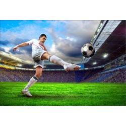 Stickers muraux déco : Footballeur