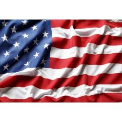 Stickers muraux déco : Drapeau Américain