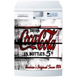 Sticker pour Lave Vaisselle Coca Cola