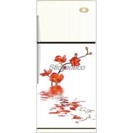 Sticker frigo Orchidée - ou Magnet frigo