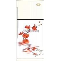 Sticker frigidaire Orchidée