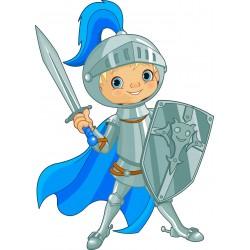Stickers enfant Chevalier épée