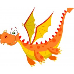 Stickers enfant Dragon
