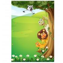 Stickers enfant géant Animaux