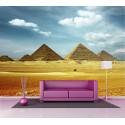 Sticker mural géant Pyramide d'Egypte 2,6 x3,6 m