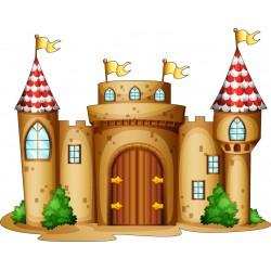 Stickers enfant Chateau
