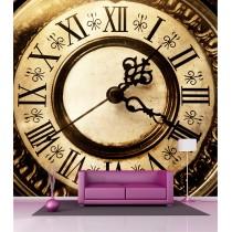 Sticker mural géant Horloge H 2,6 x L 2,7 mètre