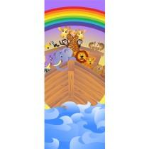 Stickers porte enfant Arche de Noé
